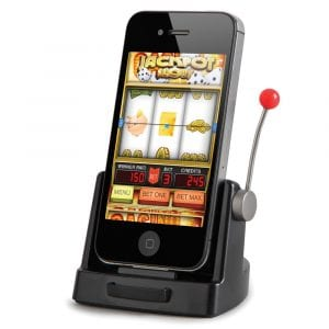 slot game on a smart phone