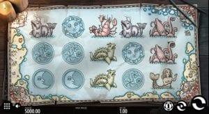 uncharted seas slot game