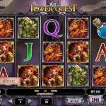 Tower Quest Pokie Play'n GO Screenshot