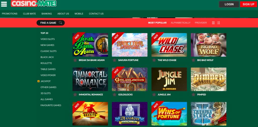 Casino-MATE Free Spins NZ