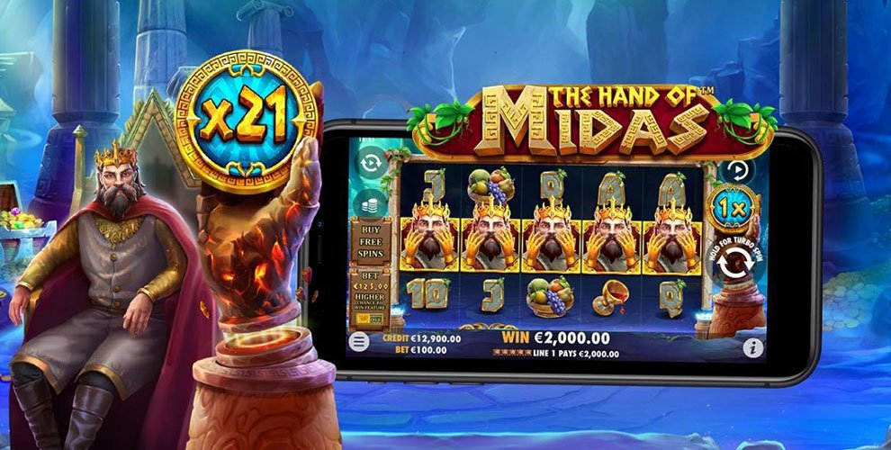 Hand of Midas slot