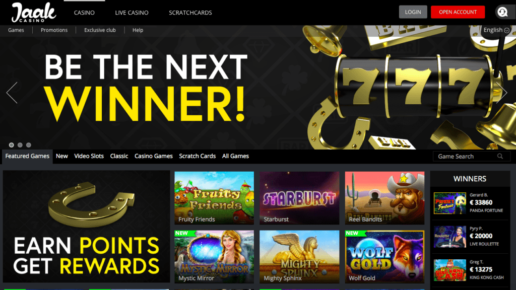 Jaak Casino Free Spins NZ