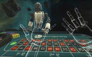 a view on virtual reality casino room