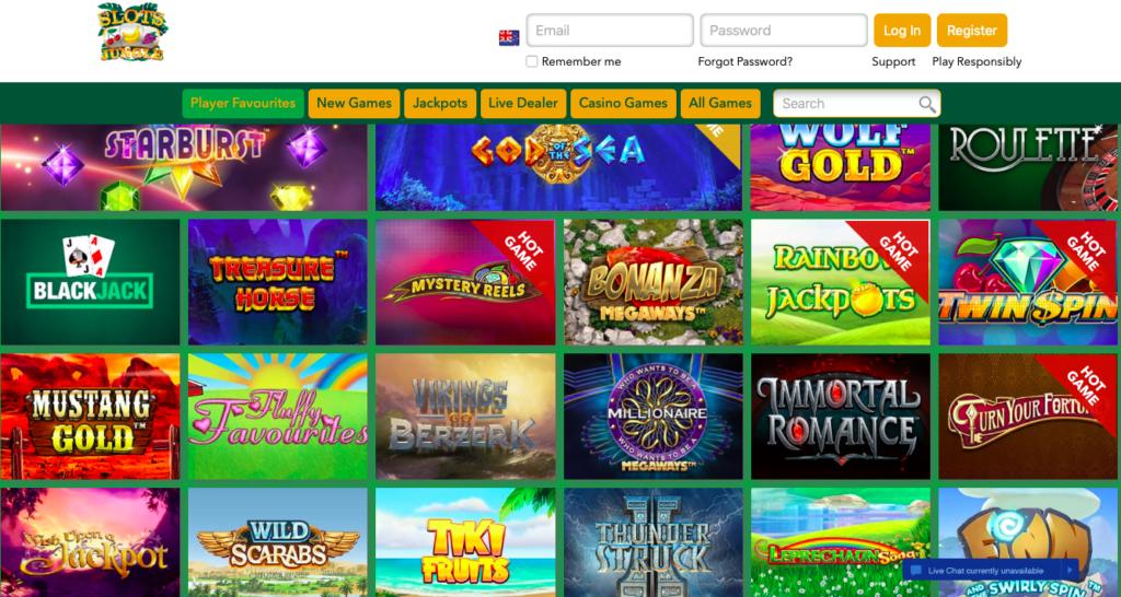 Slots Jungle Free Spins NZ