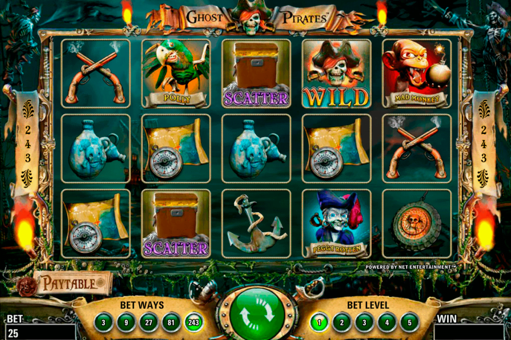 ghost pirates Slot Games