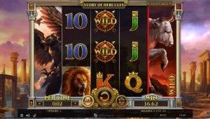 story of hercules slot game