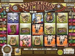 western wildness slot game